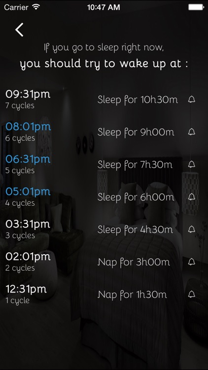 sleepyti.me: Bedtime Calculator
