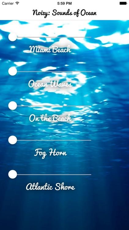 Sounds Of Ocean