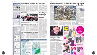 Irish Examiner Epaper review screenshots