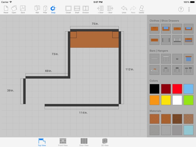 Nice  Sketch Arm   3D Closet Designer On The App Store