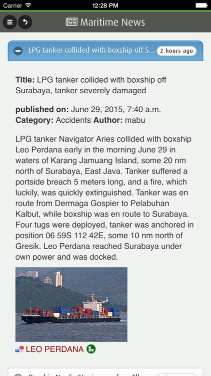 FleetMon Mobile - live ships: AIS vessel tracking and ship finder screenshot-4