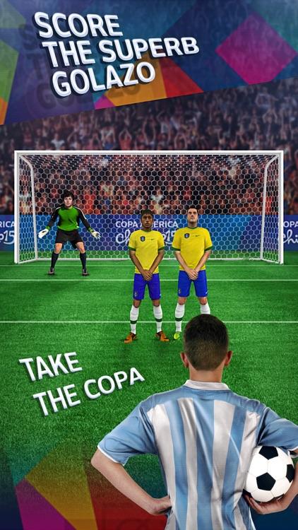 Free kick challenge - Copa America 2015 edition