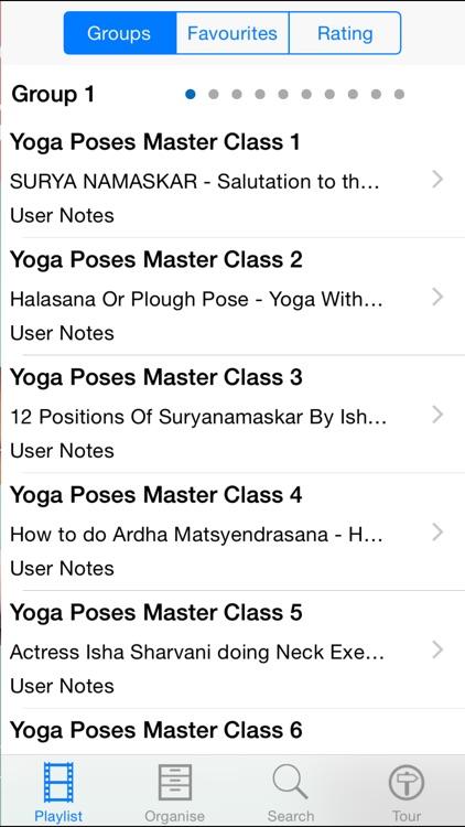 Yoga Poses Master Class