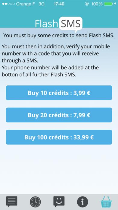 Flash SMS Class 0 Screenshots