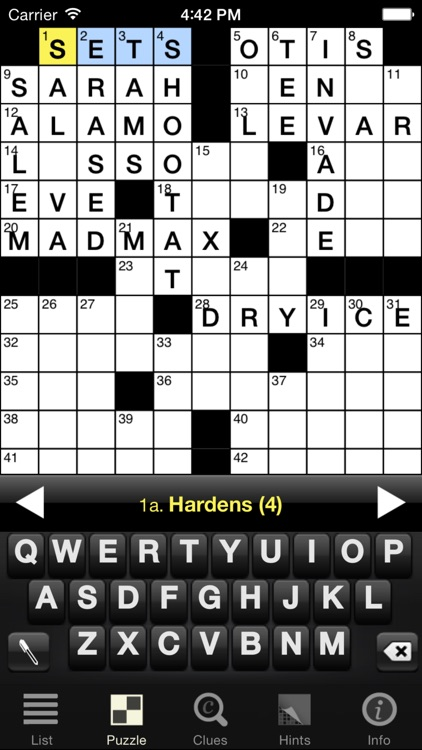 Crosswords Classic screenshot-0