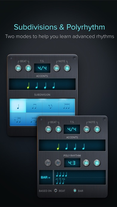 Pro Metronome - Tempo,Beat,Subdivision,Polyrhythm for Windows