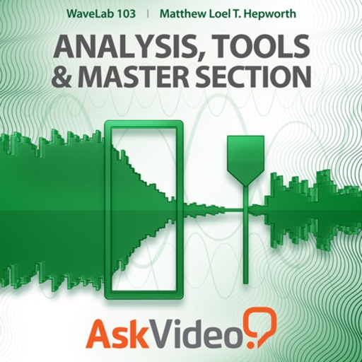 Course for WaveLab 103 - Analysis, Tools and Master Section