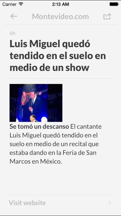 Periódicos UY - Los mejores diarios y noticias de la prensa en Uruguay screenshot-3
