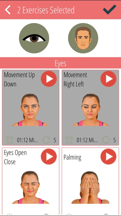 Eyes & Face Stretching Exercises