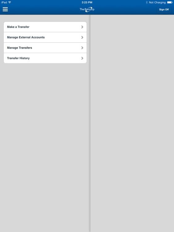 TBBK Employee Banking for iPad screenshot-3