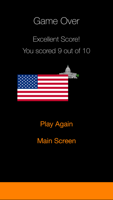 Against The Clock - American State Capitals screenshot three