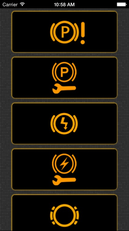 App for Chevrolet Cars - Chevrolet Warning Lights & Road Assistance - Car Locator screenshot-2