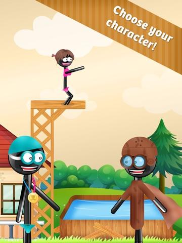 Скачать игру Stickman High Diving PRO - Touch, Jump & Flip!