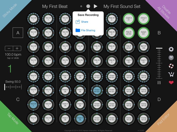 Gumdrops * beats so sweet, you're bound to get ill.® A Different Kind of Drum Machine screenshot-3