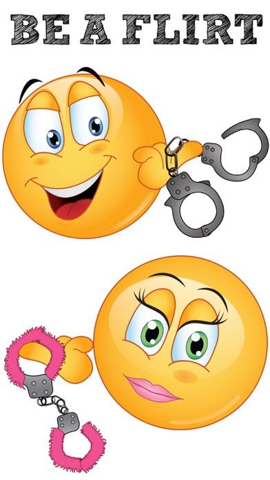 What is the flirty emoji