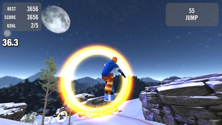 Crazy Snowboard Free screenshot-4