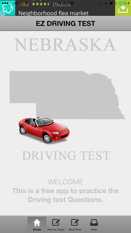 Nebraska Basic Driving Test by Augustine Joseph Alucious