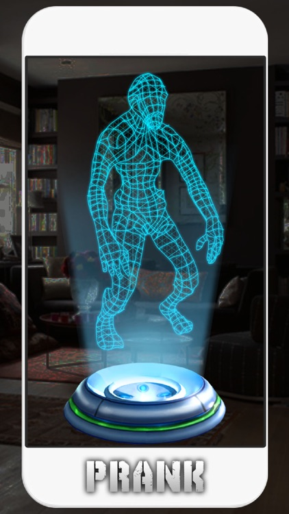 Hologram Zombie 3D Simulator