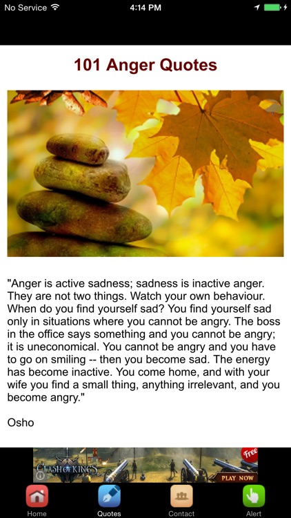 Anger Management Tips & 101 Anger Quotes