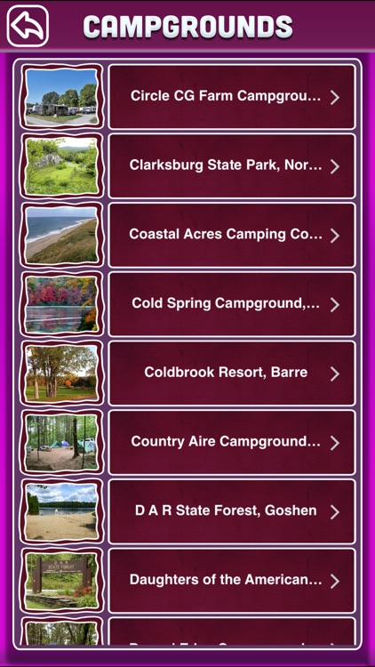 Massachusetts Campgrounds Offline Guide screenshot-2