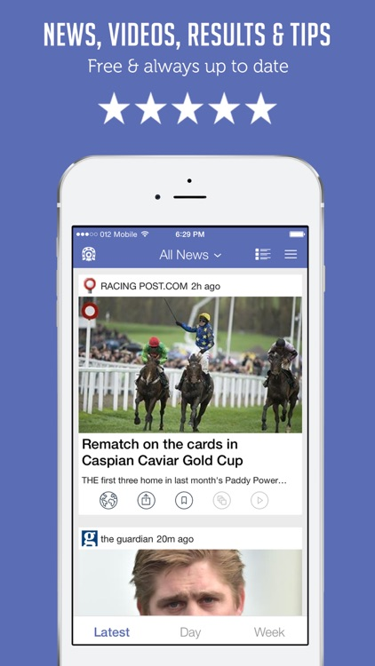 Horse Racing News & Videos - Sportfusion screenshot-0