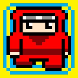 Red Ninja Escape - Go Run Away Challenge 8 bit Games