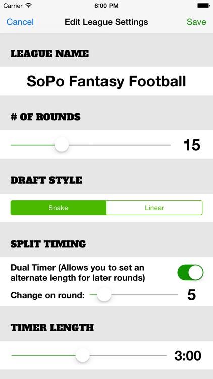Draft Clock screenshot-3