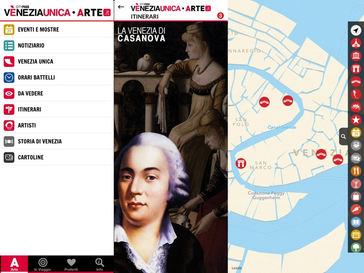 ARTE.it Venezia Unica for iPad screenshot-2