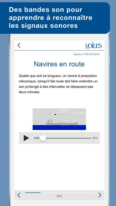 Feux & marques des navires - Voiles et voiliers - Au programme du Permis Côtierのおすすめ画像5
