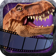 Triassic Art Photo Booth PRO - Insert A World of Dinosaur Special Effects in Your Images