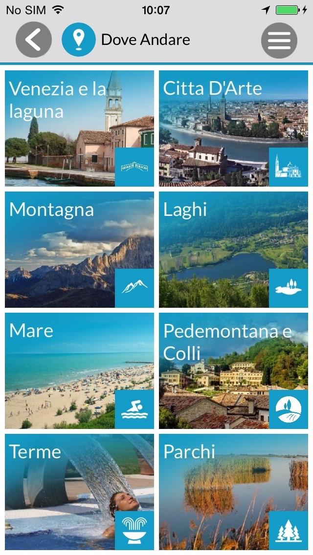 Screenshot of Visit Veneto2