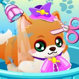 Puppy Care - Play,Sleep,Sit,Bath,Shopping