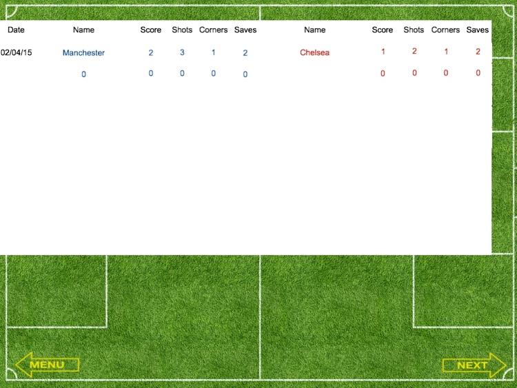 ScoreKeeper Soccer HD screenshot-3