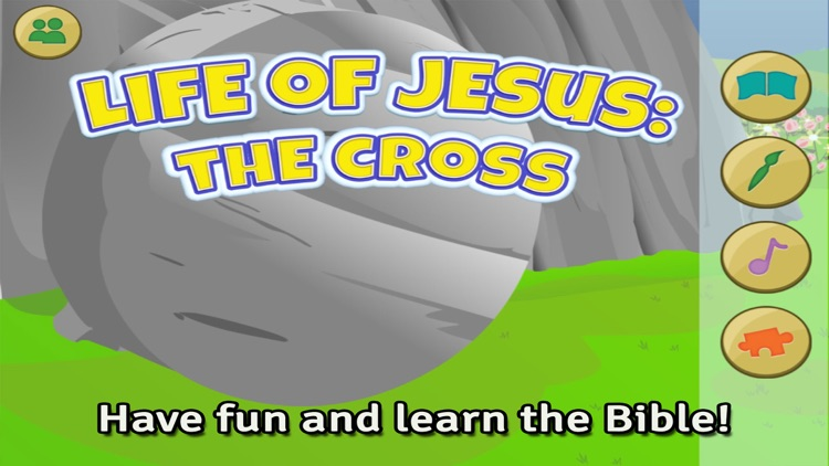 Life of Jesus: The Cross - Bible Story, Coloring, Singing, and Puzzles for Children