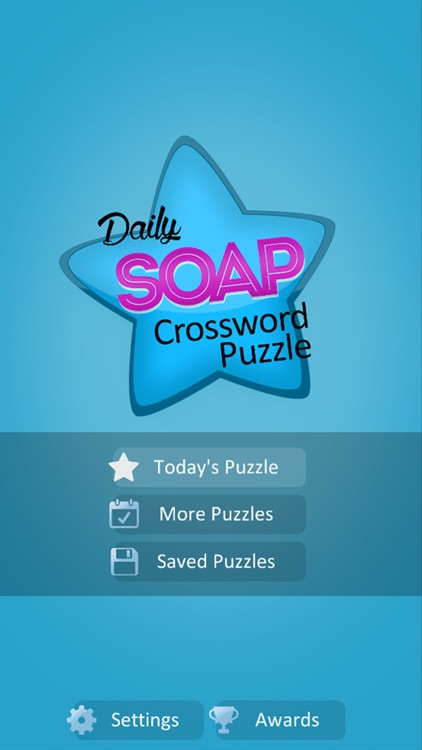 Soap Crossword Puzzle
