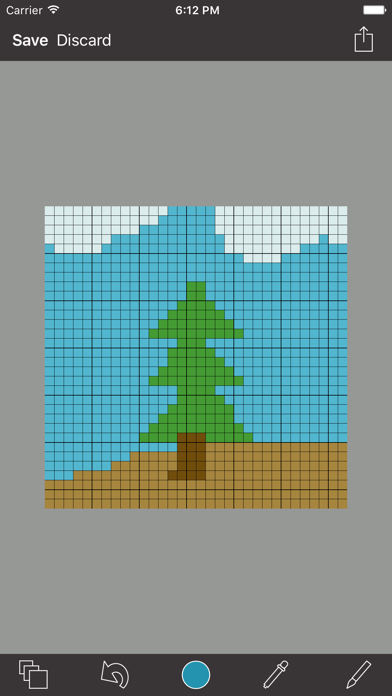 Pixel Board -- 8 Bit Art screenshot one