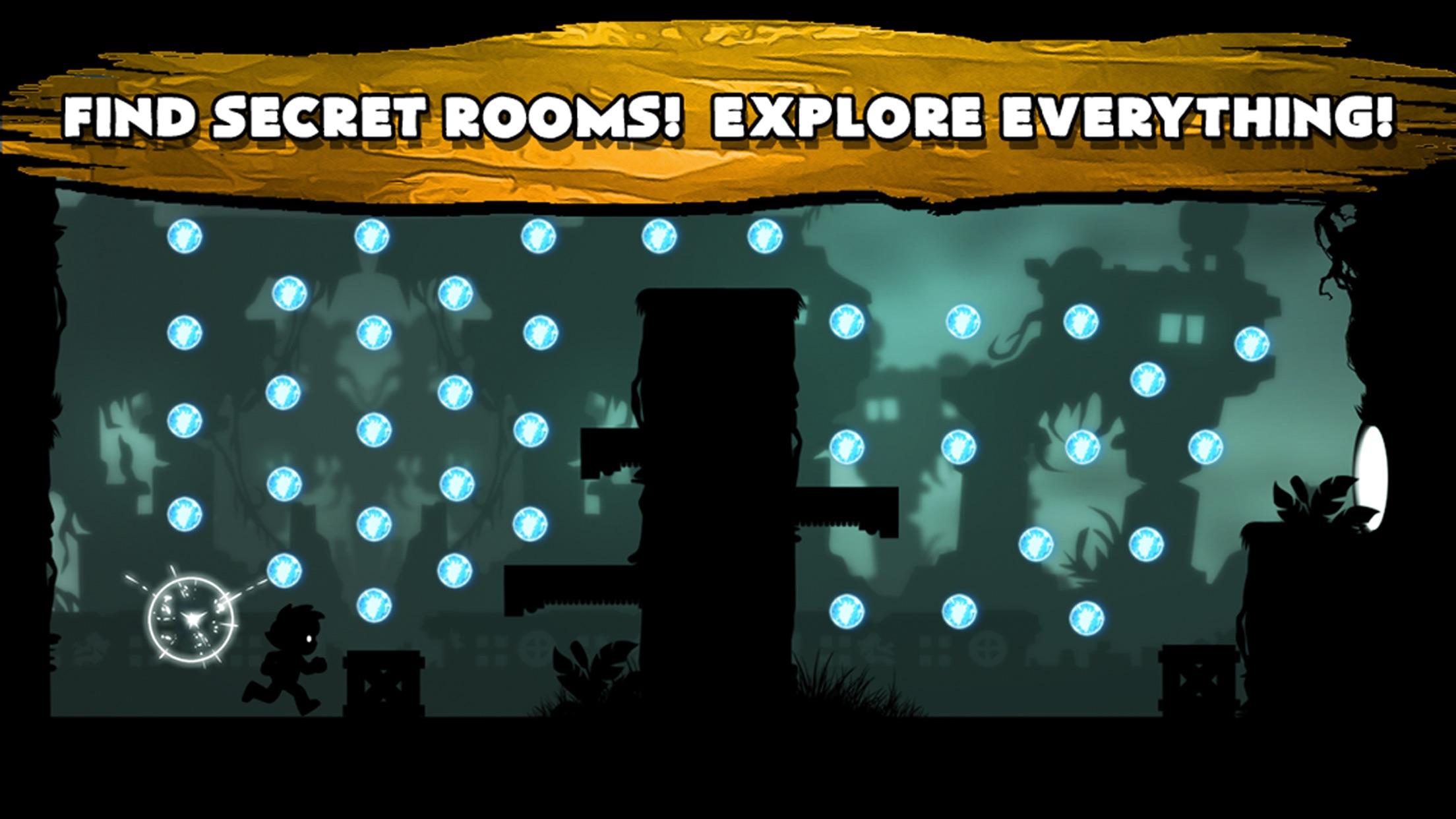 Darkness Dash - Escape The Shadow Quest Screenshot