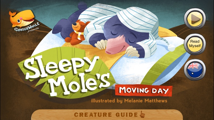 Sleepy Mole's Moving Day