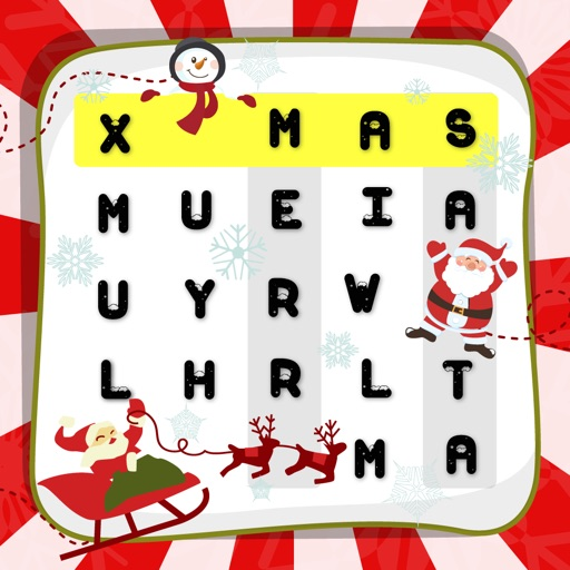 "Word Search Merry Christmas X'Mas – ""Super Classic Wordsearch Puzzle Games"""