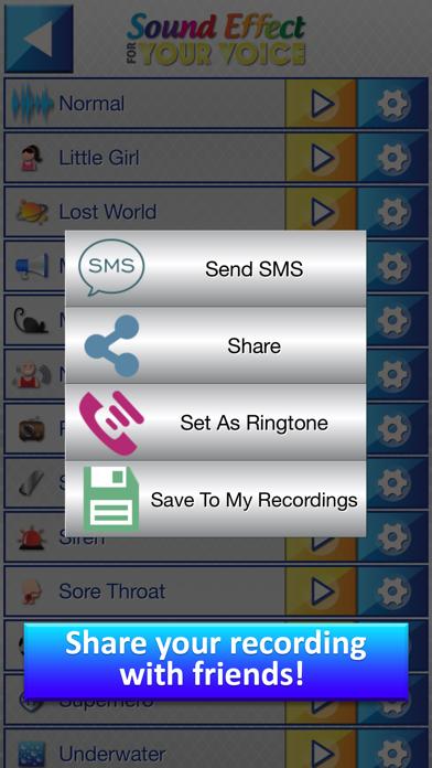 Efectos de Sonido para tu Voz - Transformar Grabaciones dentro Gracioso Sonidos con Modificador de VozCaptura de pantalla de4