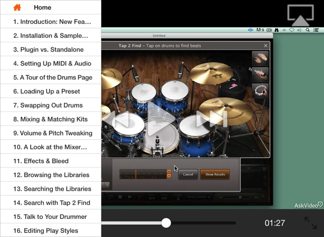 Course For EZDrummer 2