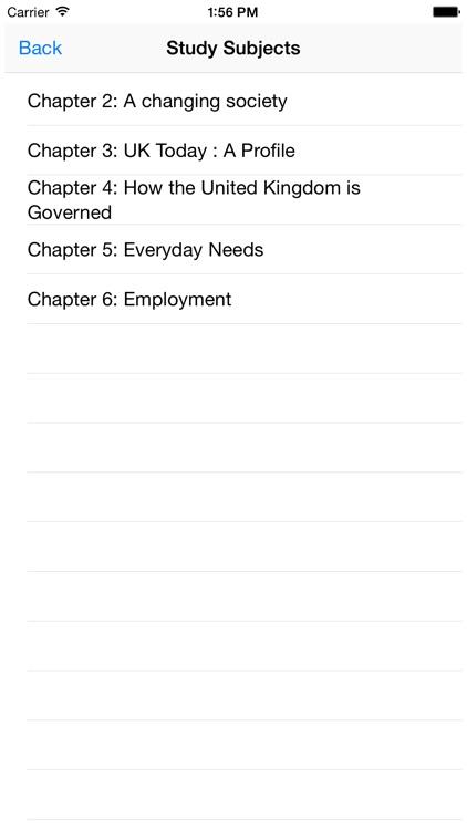 UK Citizenship Test - Life In The UK screenshot-3