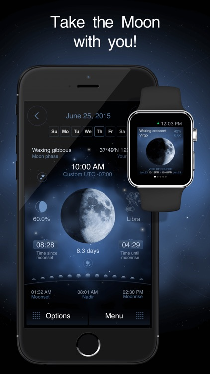 Deluxe Moon Pro - Moon Phases Calendar