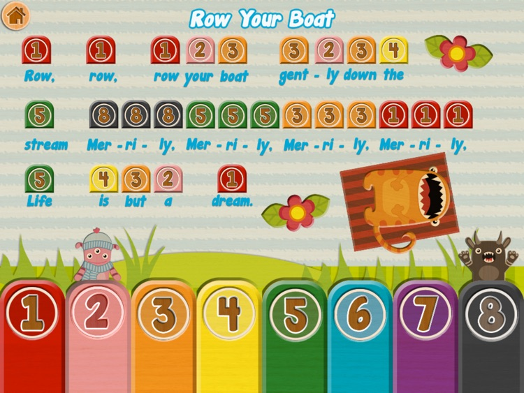 Xylo - Cutie Monsters Xylophone Fun screenshot-3
