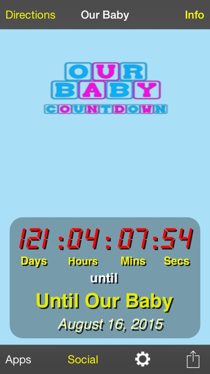 Our Baby Countdown