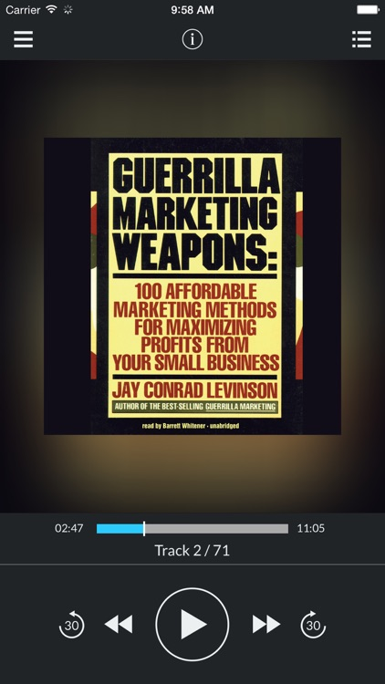 Guerrilla Marketing Weapons: 100 Affordable Marketing Methods for Maximizing Profits from Your Small Business (by Jay Conrad Levinson) (UNABRIDGED AUDIOBOOK)