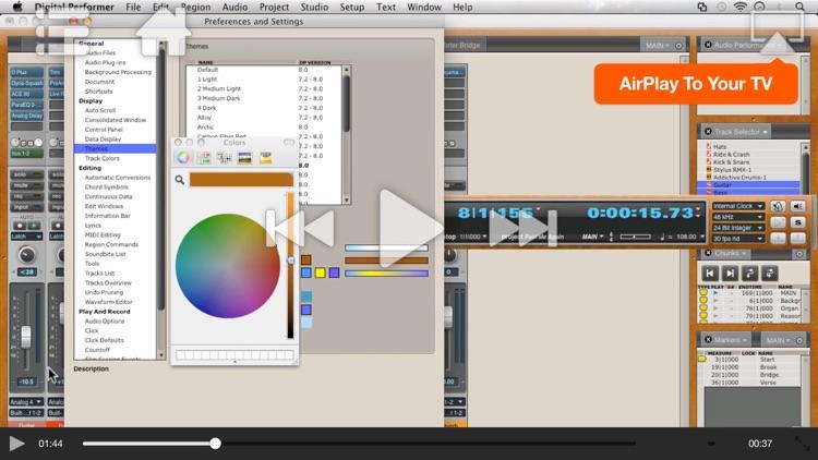 AV for Digital Performer 8 100 - What's New In DP8 screenshot-4