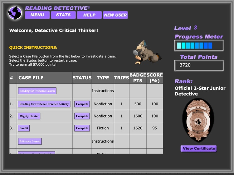 Reading Detective® Beginning screenshot-2