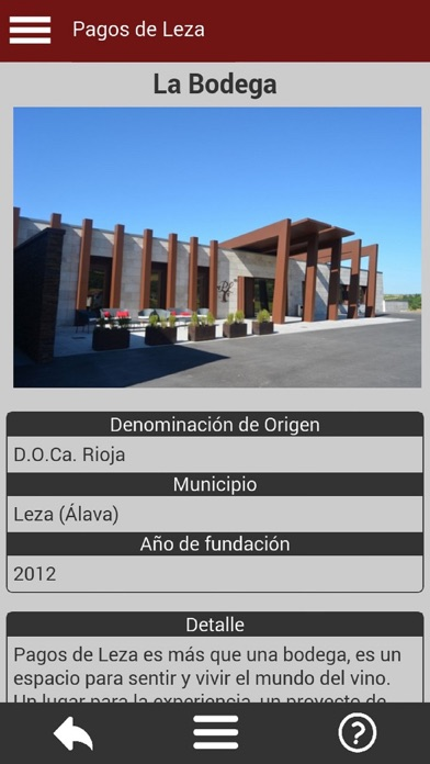 download Bodegas de España apps 4