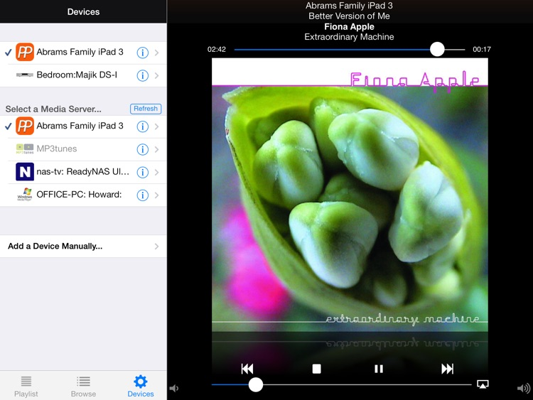 PlugPlayer for iPad screenshot-3